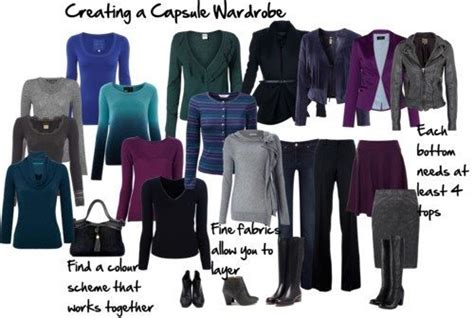 How To Create A Capsule Wardrobe by How To Create A Capsule Wardrobe That Works For You