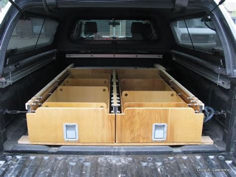 Truck Bed Drawers Diy by Diy Drawers That Pull Out Of The Back Door Of