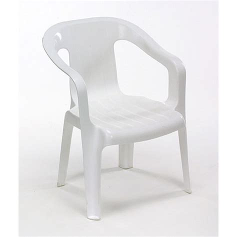 Plastic White Chairs by Chairs