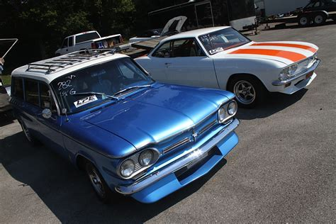 pair of ls mike meyers ls corvairs one heck of a pair of chevys