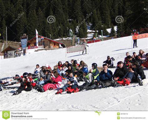 Ski School School ski school students editorial image image 20759115
