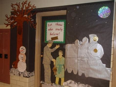 Polar Express Decorations by Polar Express Classroom Door Decoration Classroom