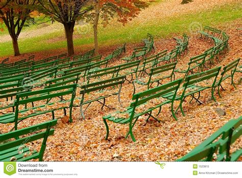 the green benches green benches royalty free stock photo image 1523815
