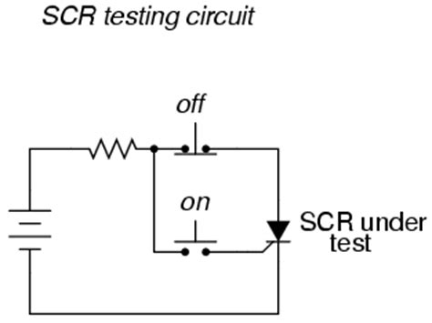 silicon controlled resistor electronics repairing and learning circuits for free silicon controlled rectifier scr thyristors