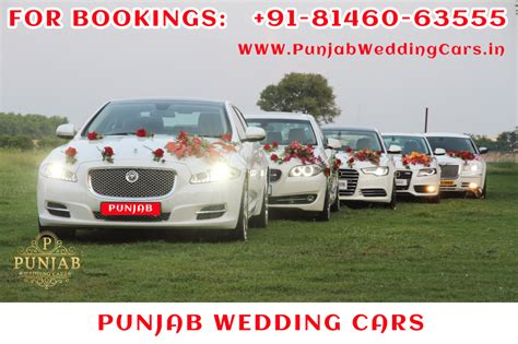 Wedding Car In Jalandhar by Gallery Punjab Wedding Cars Best Luxury Wedding Cars