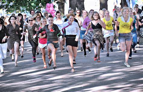 the of running in heels running in heels in estonia