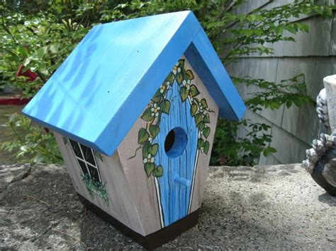 painted bird houses designs ideas for painting wooden bird houses birdcage design ideas