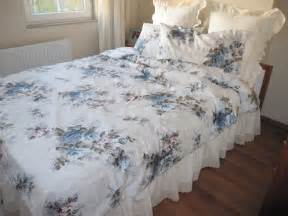 shabby chic bedding shabby chic bedding blue gray bloom flower rose by nurdanceyiz