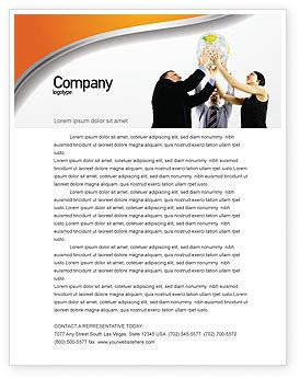 business partnership letterhead global partnership letterhead template layout for