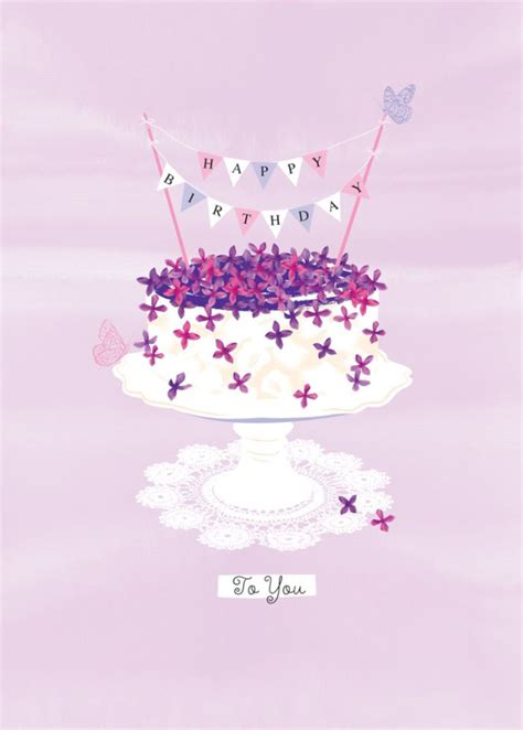 debbie edwards female birthday flowers  cake  bunting happy birthday pinterest