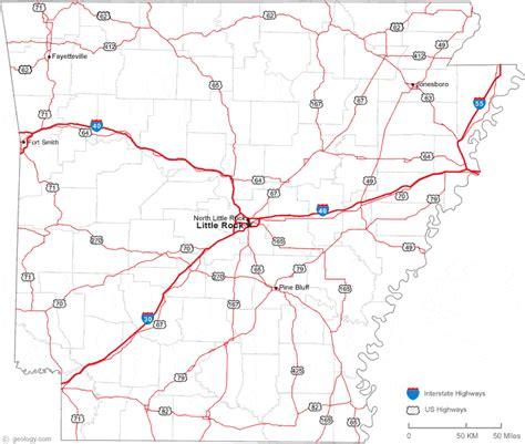 map of arkansas and map of arkansas towns