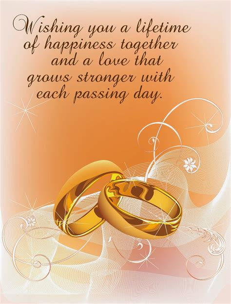 Wedding Wishes For And In by Wedding Marriage Wishes