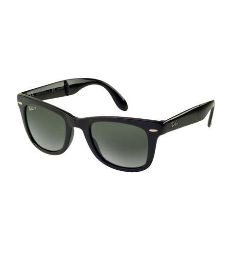 Raybn Wayfarer Folding Black ban wayfarer folding classic sunglasses in black for