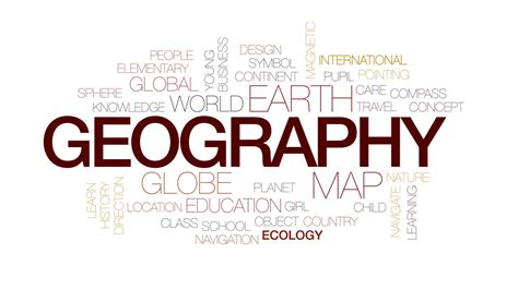 geography pattern words design templates logo typography logo geography animated