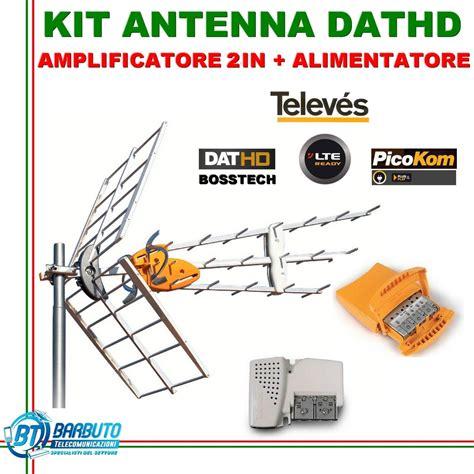 alimentatore per antenna digitale terrestre kit antenna digitale terrestre televes dathd 790 lte