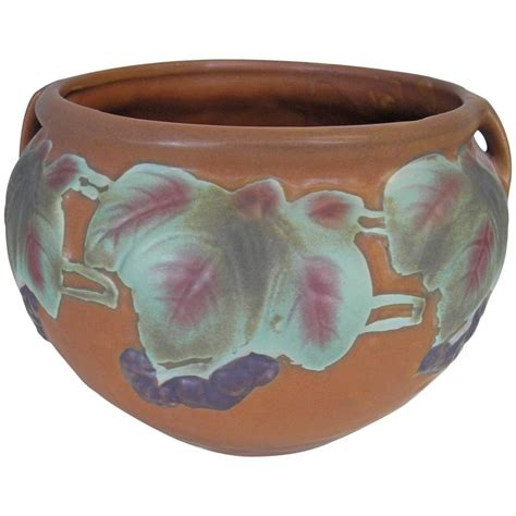 roseville pottery bowl urn for sale at 1stdibs