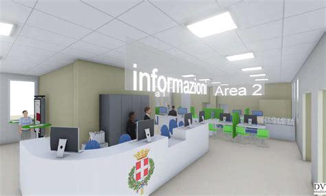 uffici anagrafici torino front office di viale torino pronto il progetto per