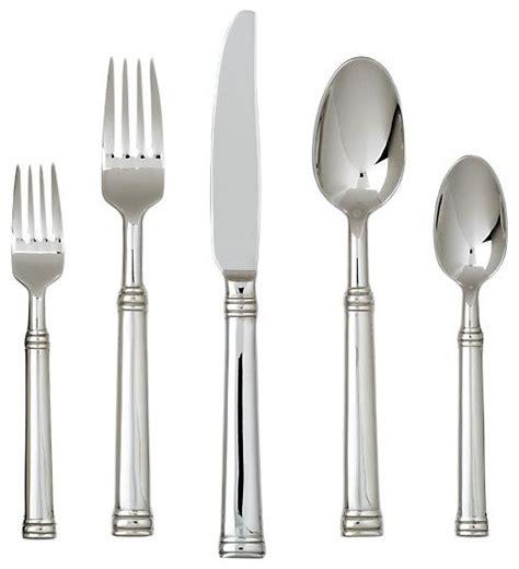 alpha 20 piece flatware set modern flatware and tuscany 20 piece flatware set contemporary flatware