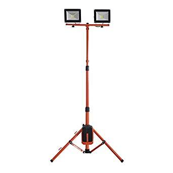 Outdoor Light Stand by Redback Cordless Portable Outdoor 20wx2 Led Flood Light
