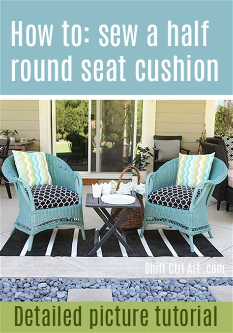 sew    seat cushion cover