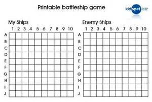 Battleship Board Template by Battleship Prinatbles How To Make Your Own Battleship