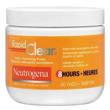 Rapid Clear Detox by Buy Neutrogena Rapid Clear Daily Cleansing Pads At Well Ca