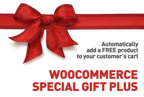special gifts shopping cart giveaway woocommerce plugin