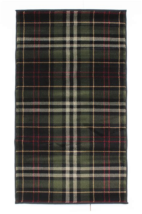 checkered rugs tartan wearing quality checkered rug soft touch green beige black blue ebay