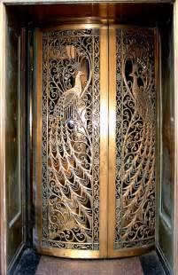 Peacock Fireplace Screen Peacock Door Door To The Former C D Peacock Jewelry