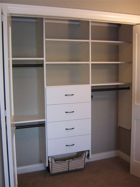 Simple Closet Design Ideas by Reach In Closets