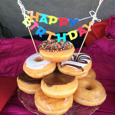 Happy Birthday Doughnuts by Happy Birthday Mandy And
