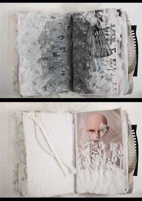 Creative Sketchbook By Fashion Designer Ania Leike The