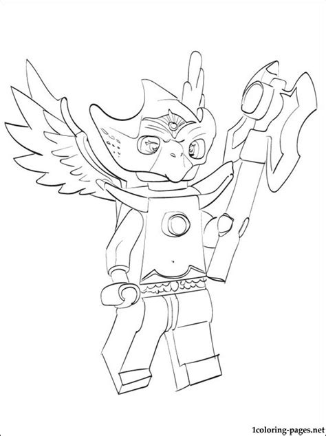 lego chima coloring coloring pages