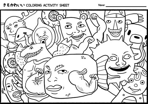 coloring pages of kawaii crush nice kawaii crush coloring pages 2 artsybarksy