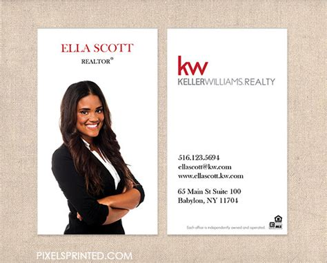how to become a realtor home design ideas kw realtor business cards thick color both sides by