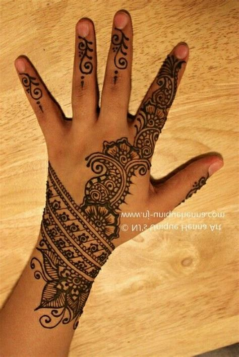 beautiful henna tattoo simple mendhi the wrist beautiful