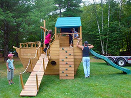 pirate ship swing set plans 25 best ideas about outdoor playground on pinterest