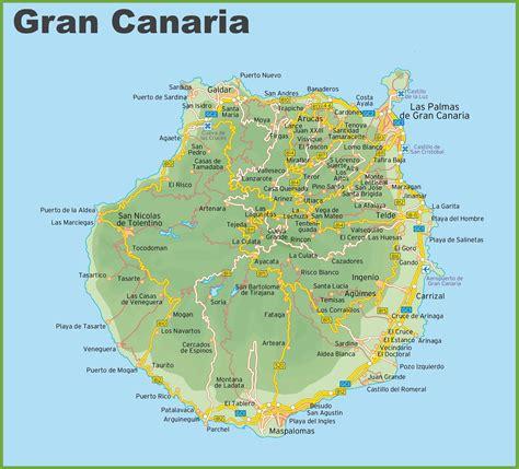 printable map gran canaria gran canaria map threeblindants com