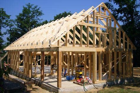 How To Build A Barn Style Roof by Maison Ossature Bois En Kit Pour Autoconstruction