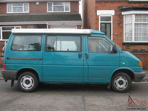 volkswagen green vw cervan t4 1995 volkswagen green westfalia pop top