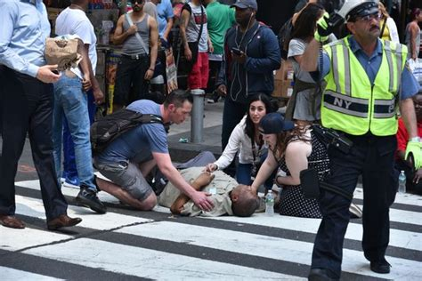 Times Square Hit And Run by Us Navy Veteran 26 Who Mowed Pedestrians In Times