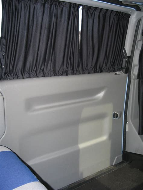 van window curtains vw transporter t4 syncro cer conversion curtains fitted