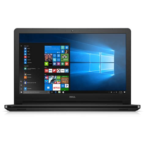 Laptop Dell Inspiron 15 5000 Series dell 15 6 quot inspiron 15 5000 series notebook i5566 3789blk
