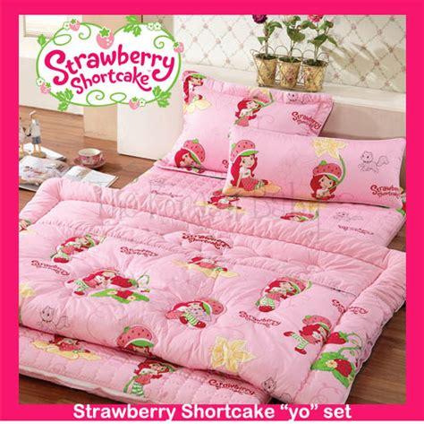 Strawberry Shortcake Yo Mattress Set 171 The Korean Baby Strawberry Shortcake Toddler Bedding Set
