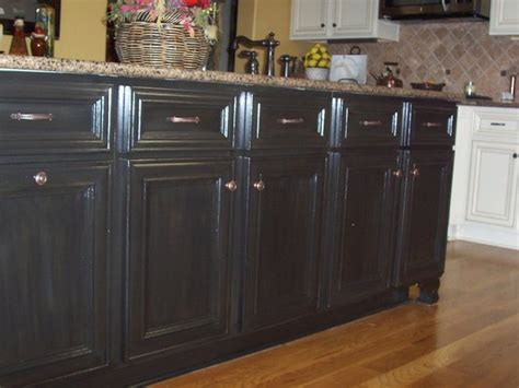 Finishing Kitchen Cabinets Cabinet Refinish Black Cabinets Faux Finish Wood Finishes