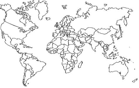 global map coloring page ambitonie mapa mundi mudo
