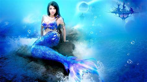 Selimut Mermaid Murah Gratis Nam blue mermaid mermaids wallpaper 34153256 fanpop page 7