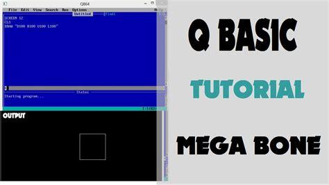 qbasic tutorial youtube qbasic tutorial for kids youtube