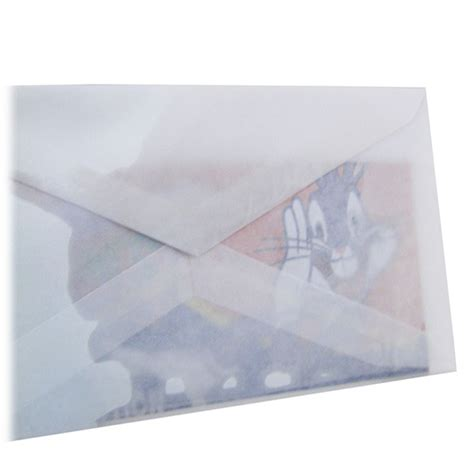 How To Make Paper See Through - x spray makes envelopes see through for 30 seconds