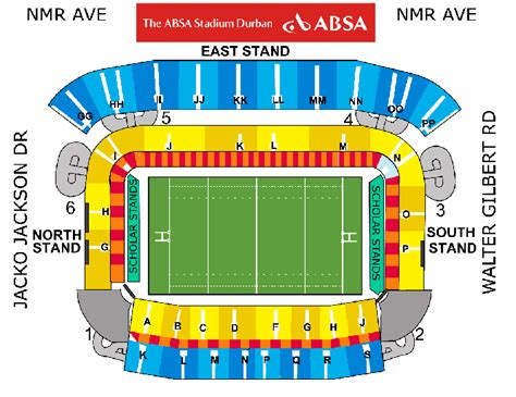 Second Story Floor Plans by Lions 2009 Absa Stadium Durban